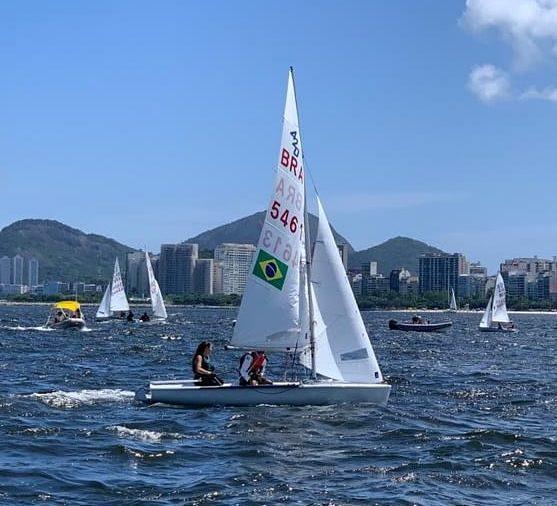 Marina da Fonte e Rodrigo Luz conquistam o título do Brasileiro de 420