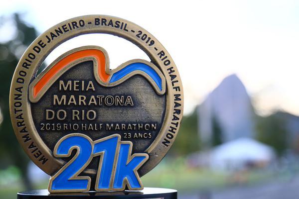 As Edições 2020 e 2021 da RIO INT'L HALF MARATHON – MEIA MARATONA INT'L DO RIO 2020-2021 SPECIAL EDITION acontecerão juntas em 15 de agosto de 2021