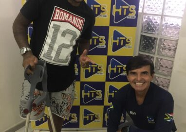 Deyvison Gonçalves conhecido como Juju Runner deu um show no Programa Hits Ação e Aventura