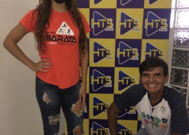 """Programa """"HITS AÇÃO E AVENTURA"""", com a participação da atleta Carolline Gomes, foi sucesso!"""