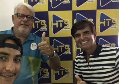 Marcelo Falcão concedeu uma bela entrevista sobre Natação no Programa Hits Ação e Aventura