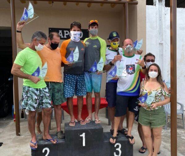 Edival Júnior e Vinícius Gondim garantiram o primeiro lugar no Circuito Nordeste de Snipe, que aconteceu em Maceió/AL