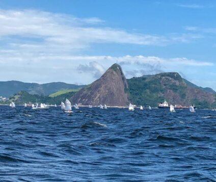 Velejadores do Cabanga Iate Clube de Pernambuco encerram participação no Brasil Centro de Optimist com avaliação positiva