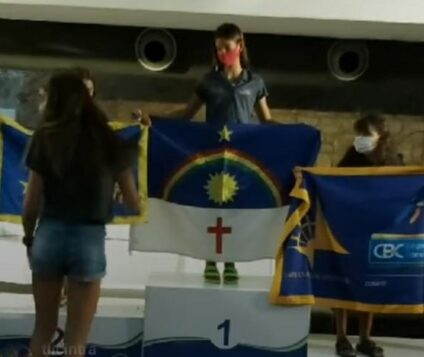 Cabanga Iate Clube de Pernambuco  conquista título do Brasileiro de Optimist com Valentina Roma Guimarães